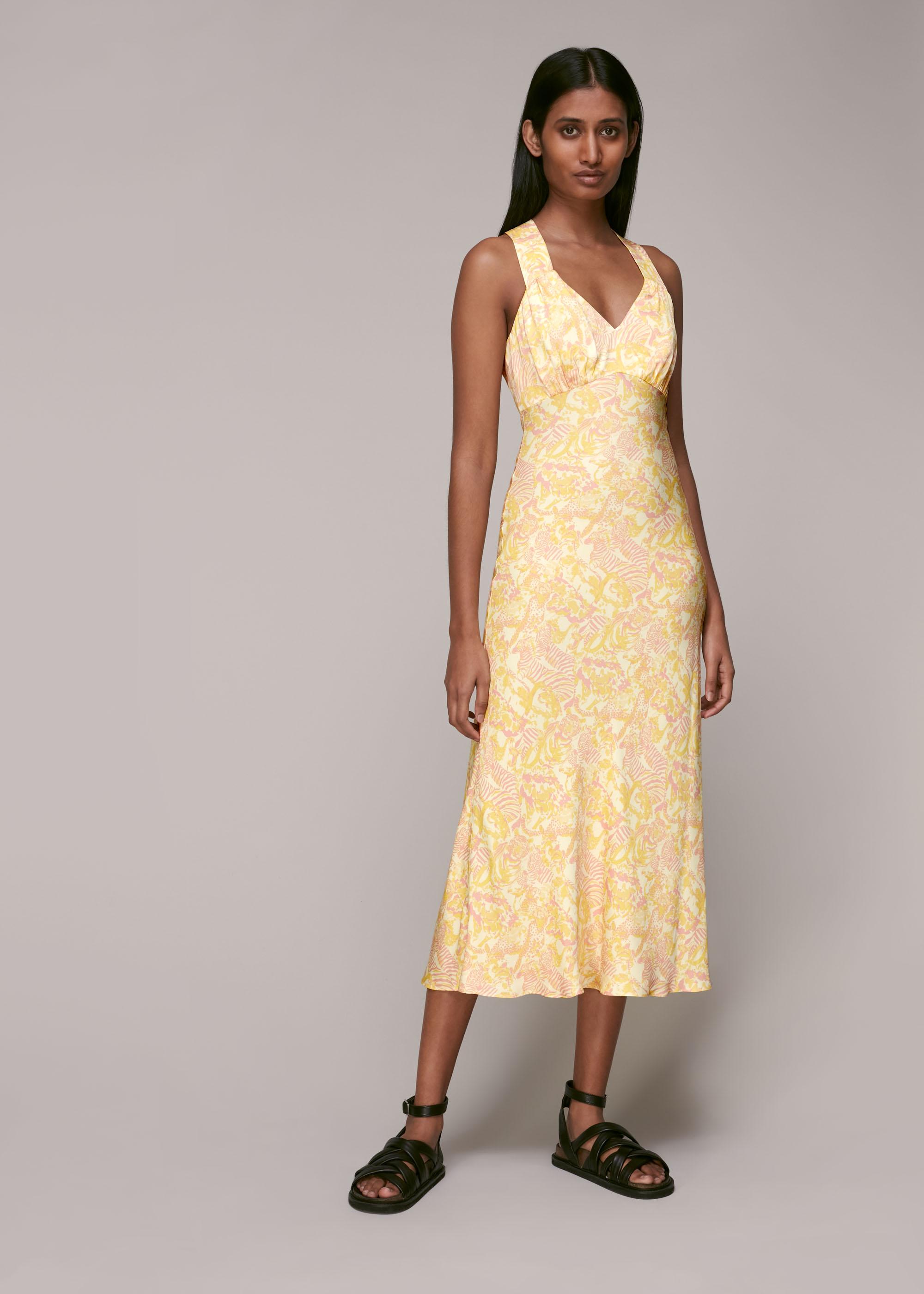 Whistles Women Camo Safari Midi Dress