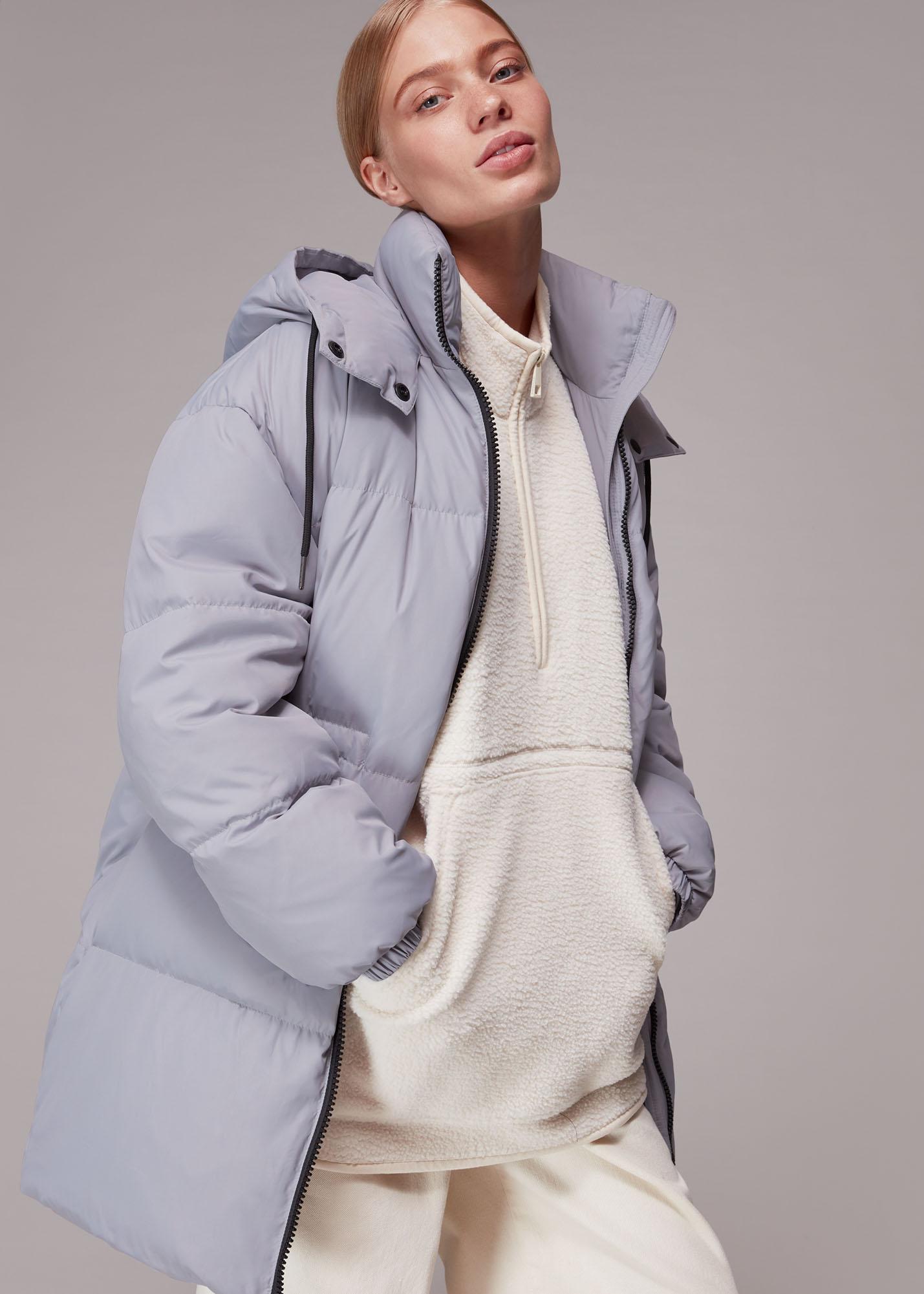 Whistles Women Esme Hooded Down Puffer Coat