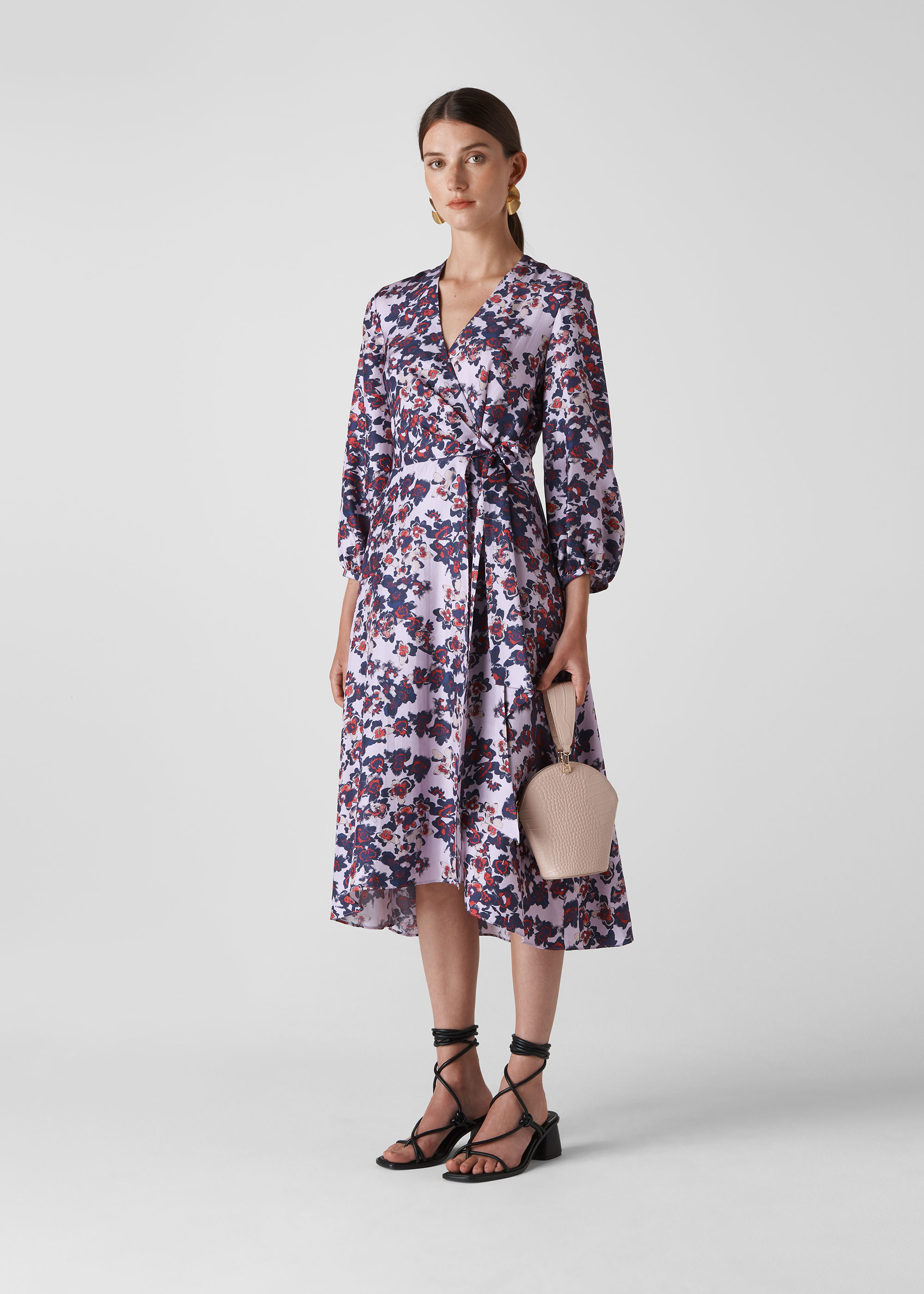 Whistles Women Floral Wrap Dress