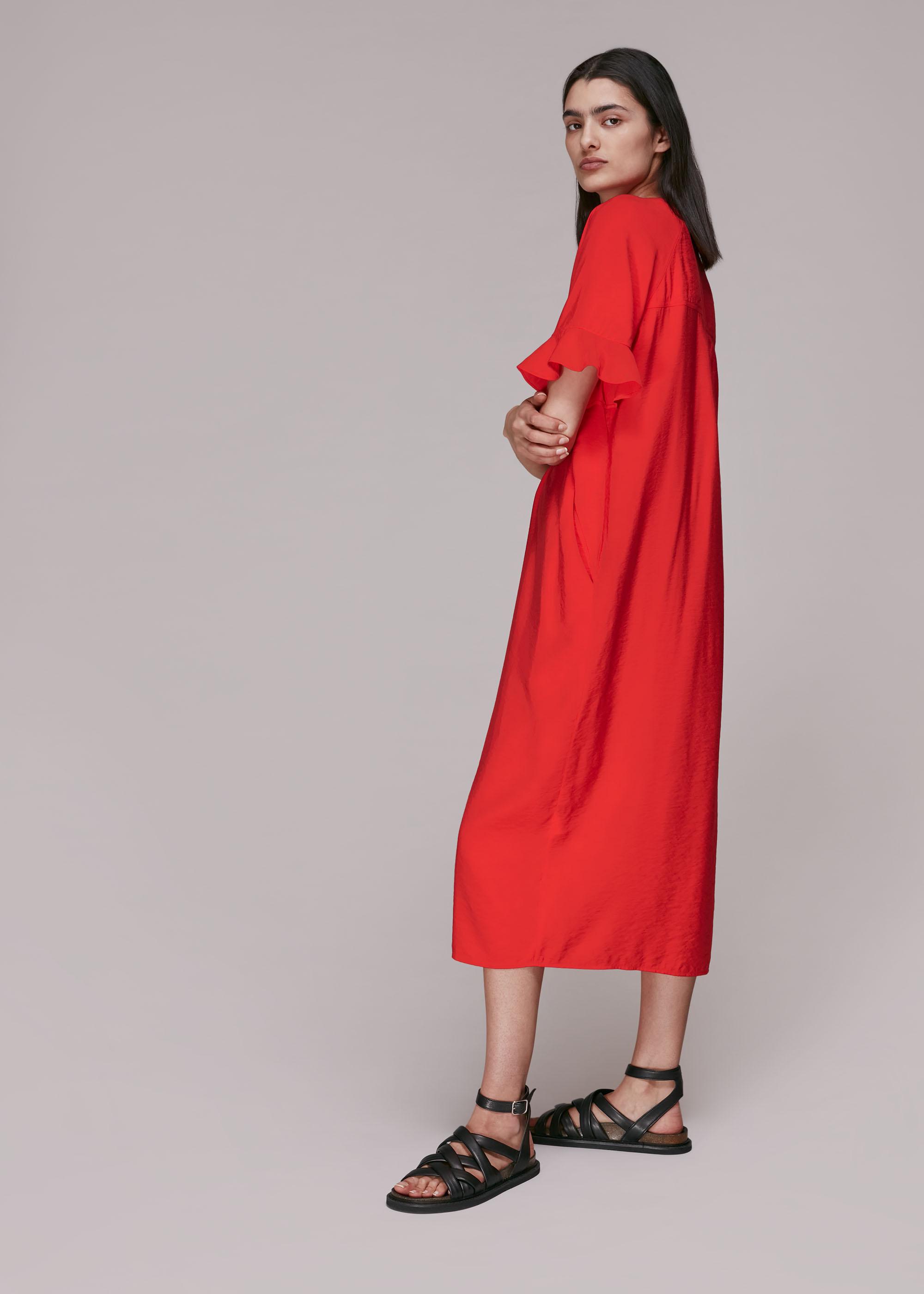 Whistles Women Alba Midi Dress