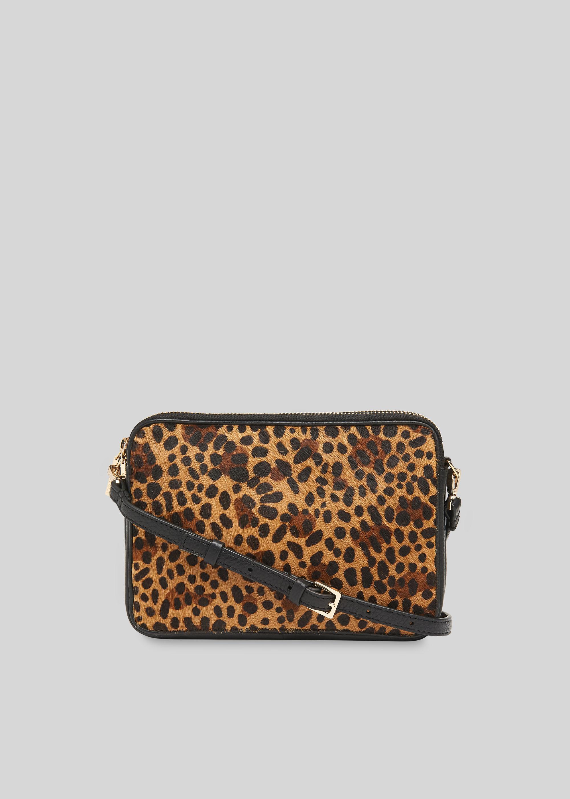 Whistles Women Cami Leopard Crossbody Bag
