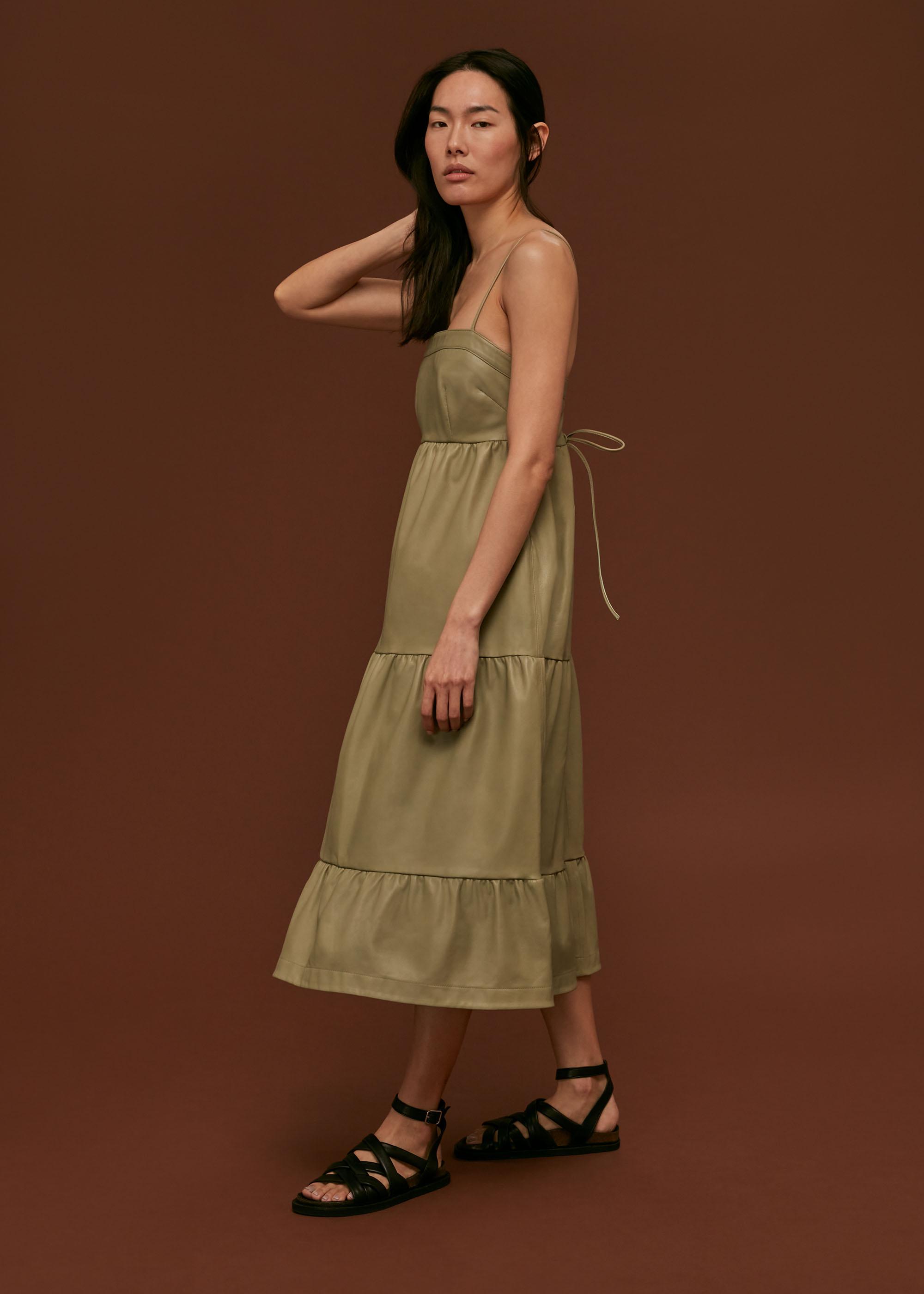 Whistles Women Leather Dress