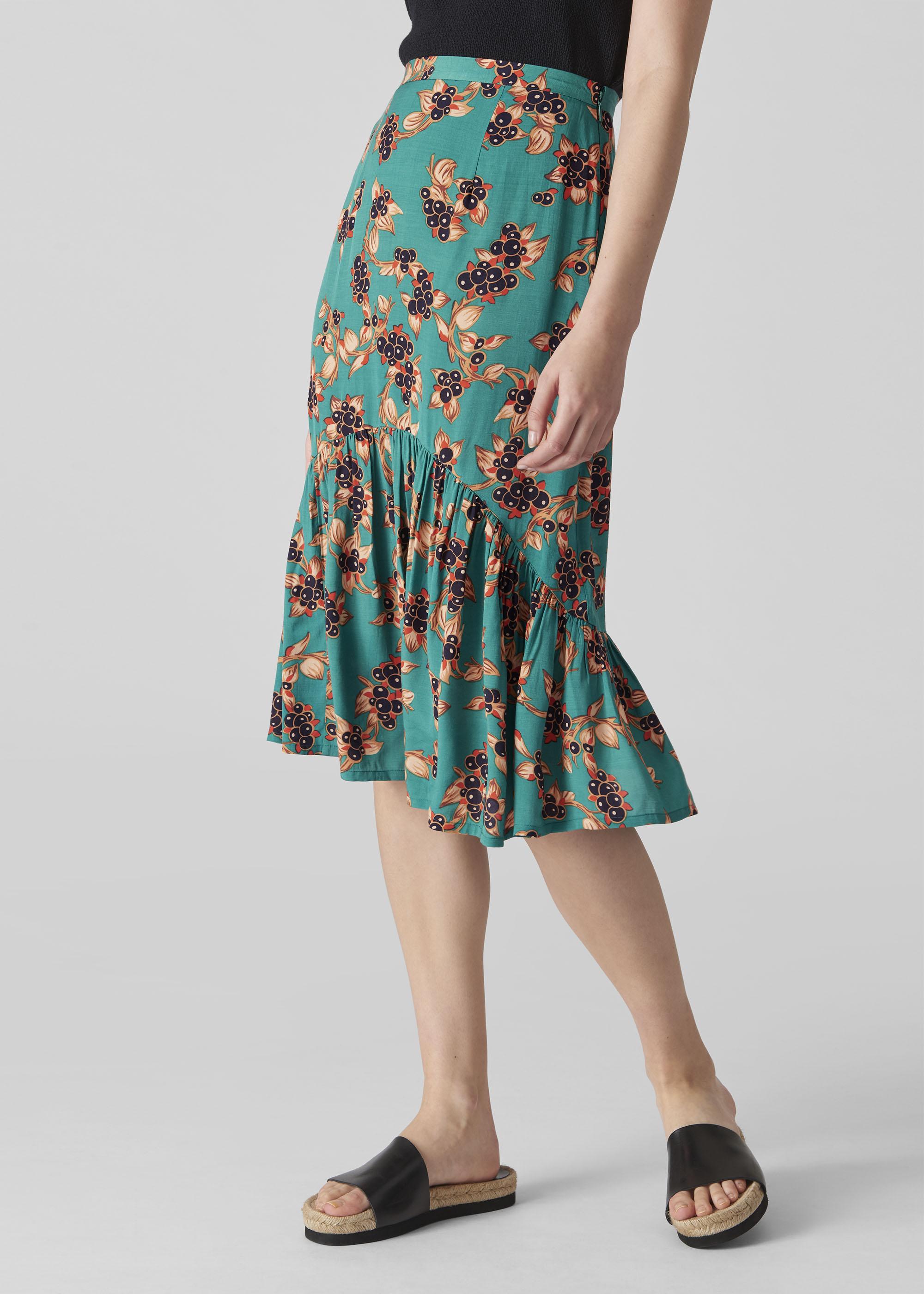 Whistles Women Capri Print Aida Skirt