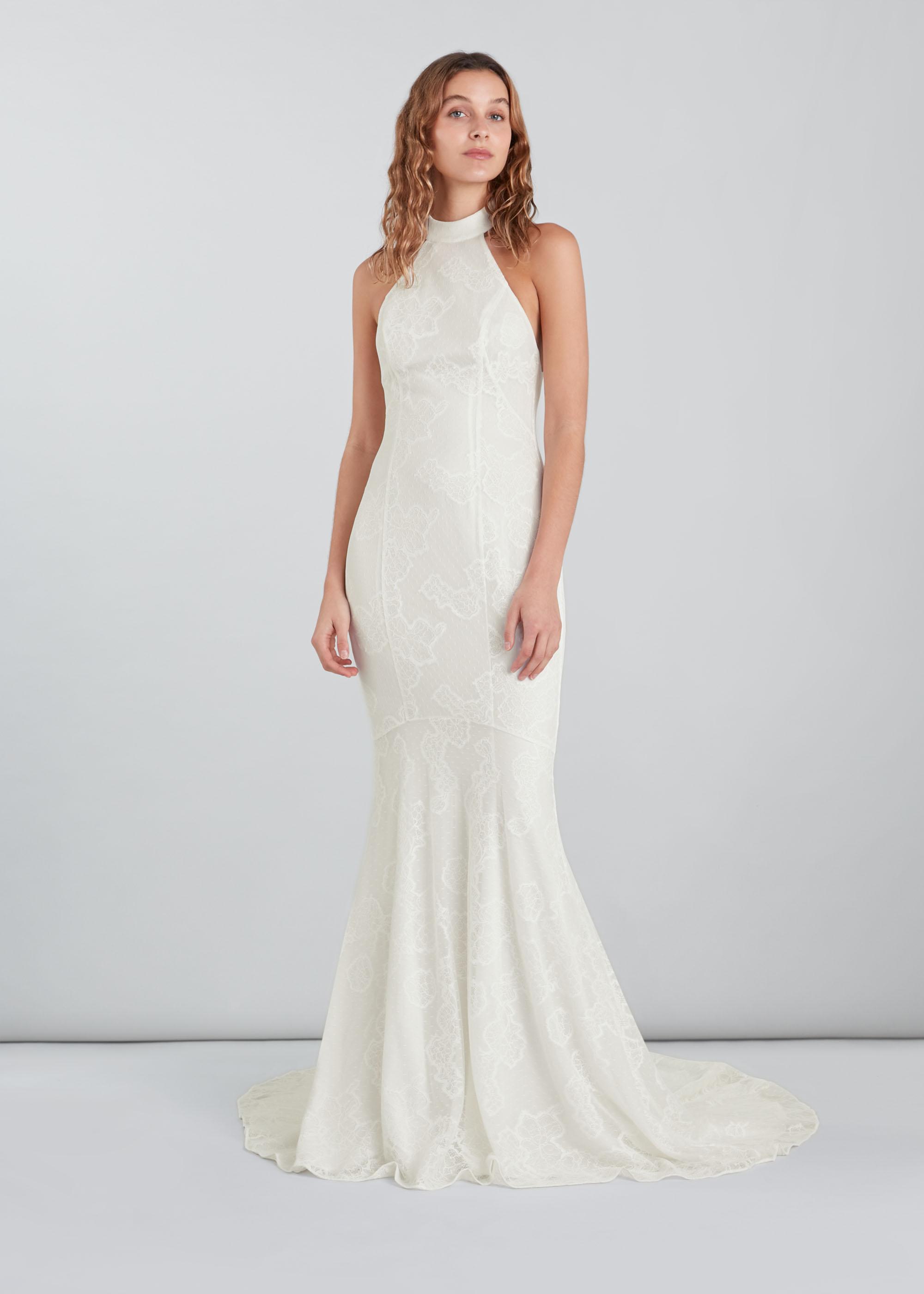 Whistles Women Maria Halter Wedding Dress
