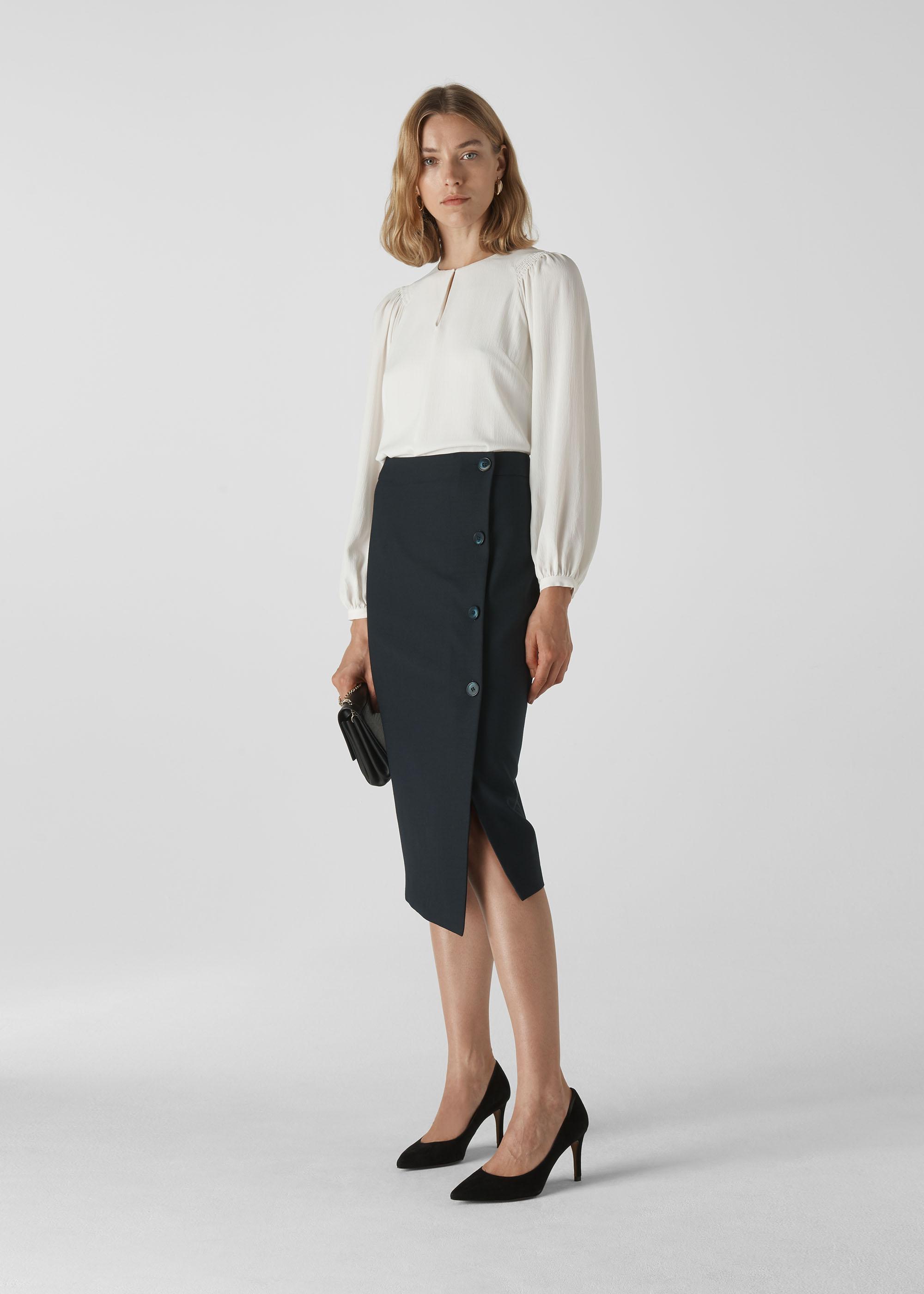 Whistles Women Anita Tailored Pencil Skirt