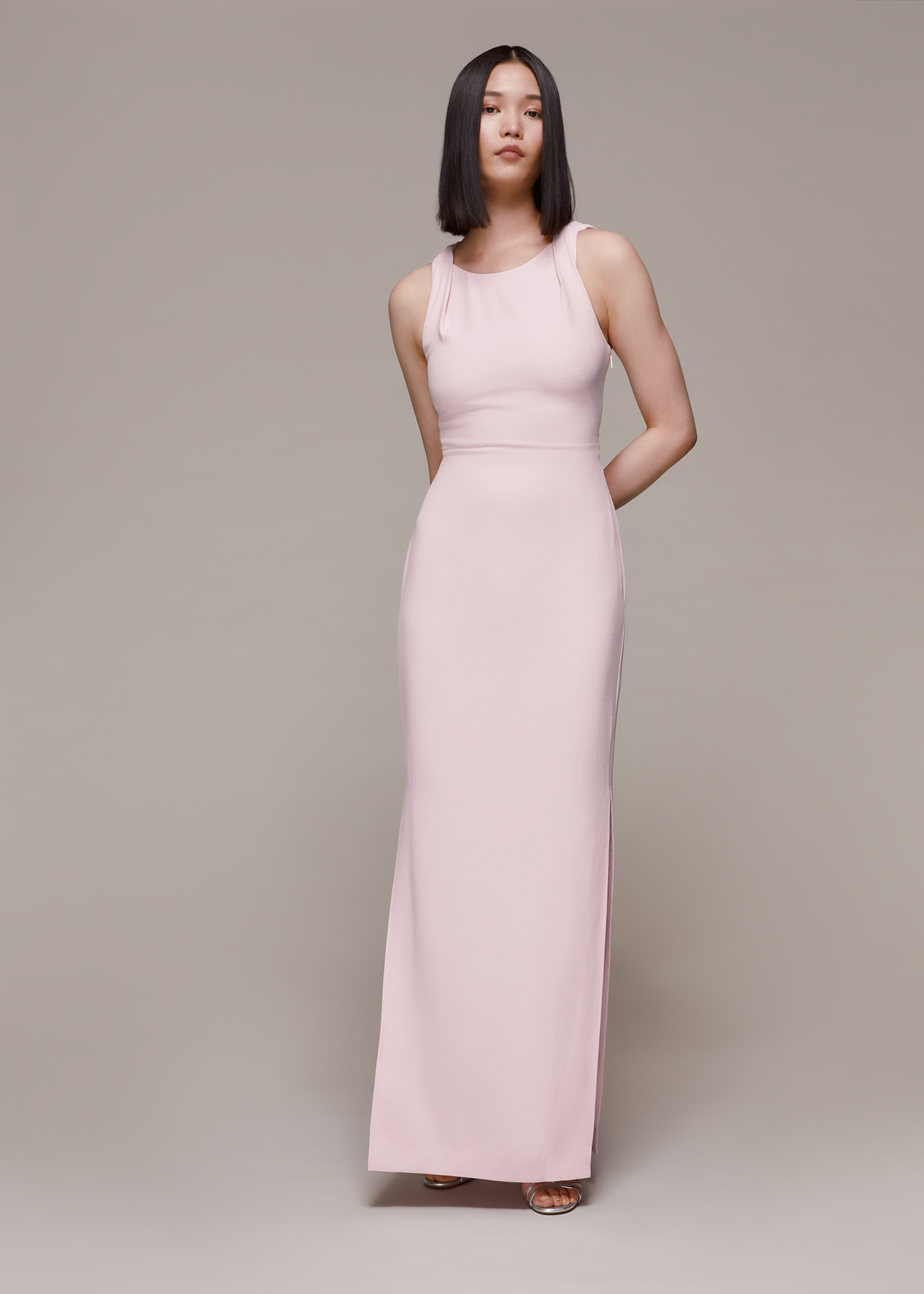 Whistles Women Tie Back Maxi Dress