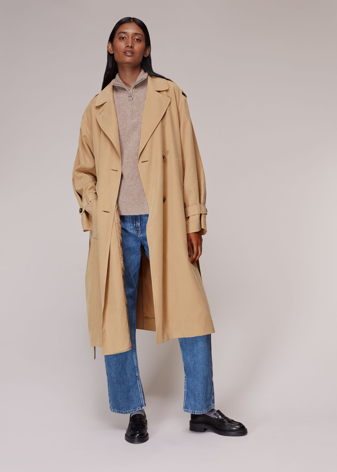 Whistles Women Riley Trench Coat
