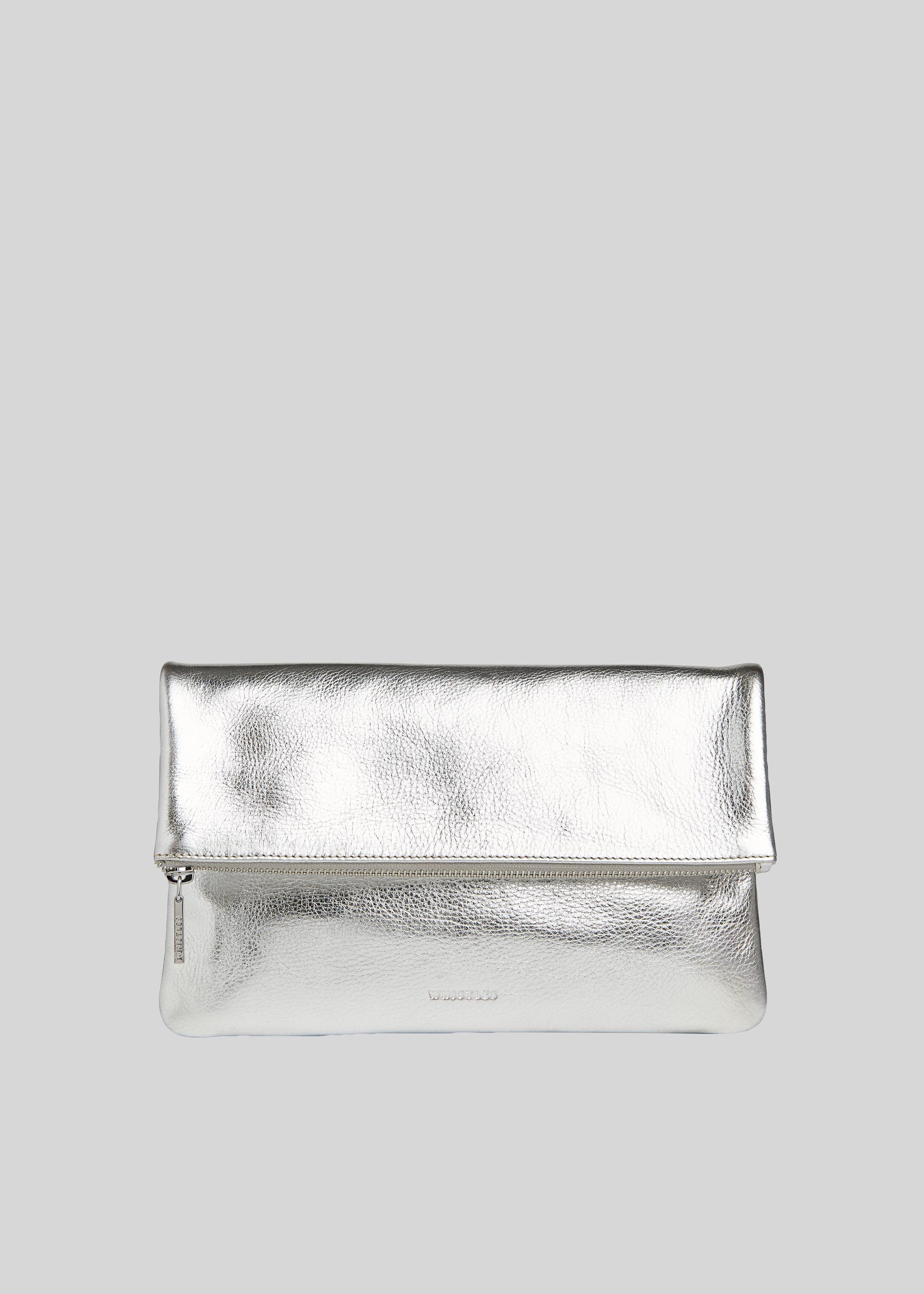 Whistles Women Chapel Foldover Clutch Bag