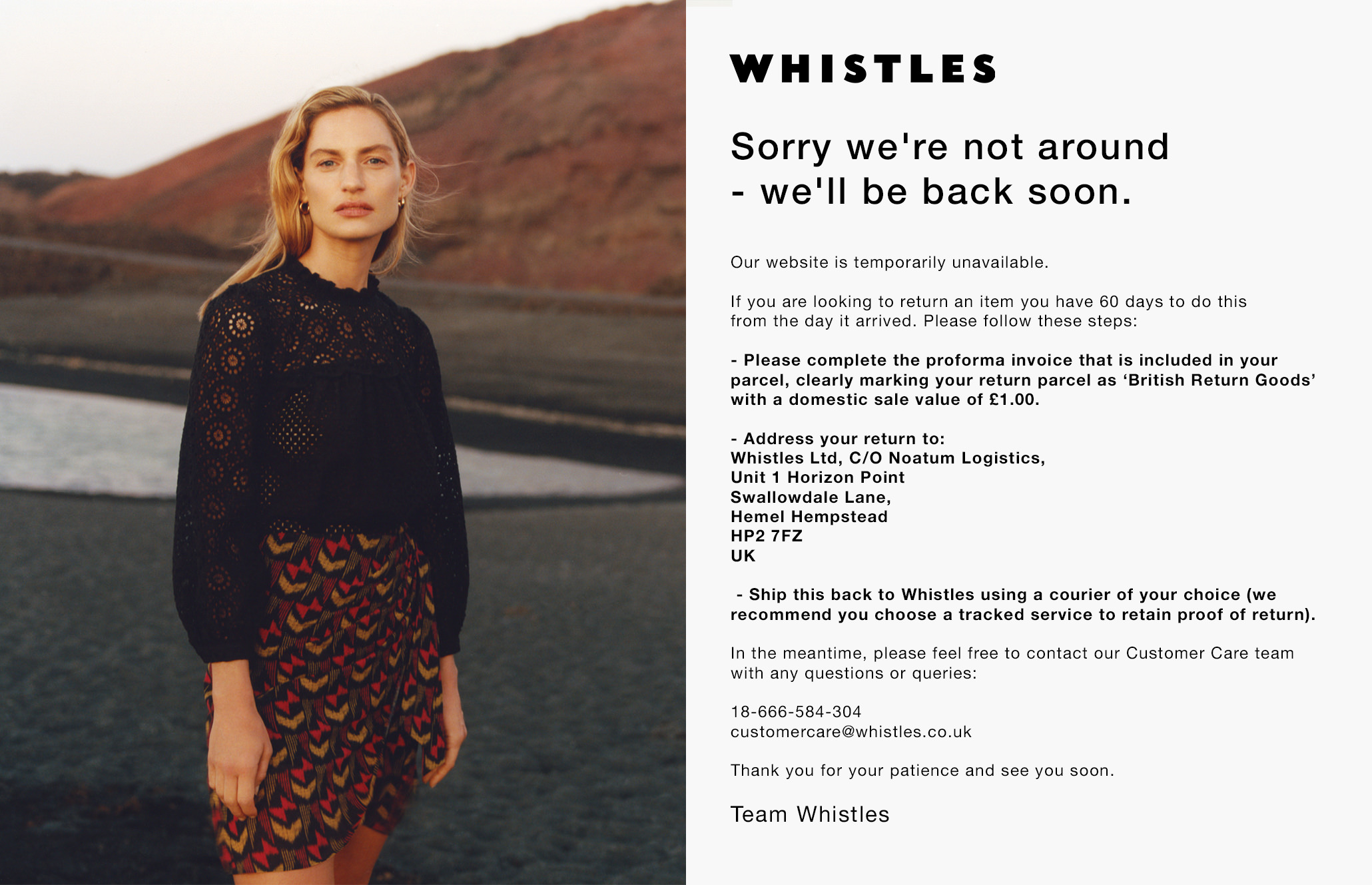 Whistles - Something new is coming
